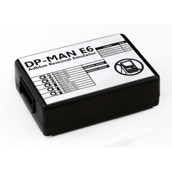 Эмулятор Dual Pass ( DP ) - MAN series Euro 6