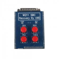 W211 SBC Recovery OBD