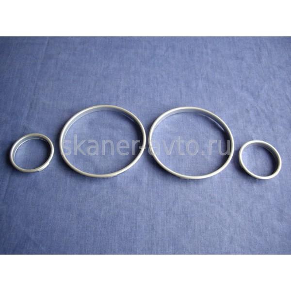 Хромированные кольца в приборную панель BMW E39 5 Series E53 X5