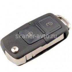 Ключ выкидной в сборе (2 кнопки) VW, Skoda, Seat.