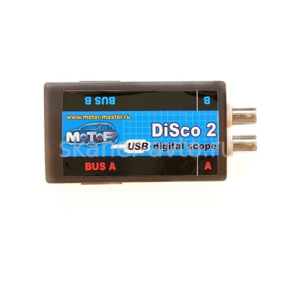 USB Осциллограф DiSco2